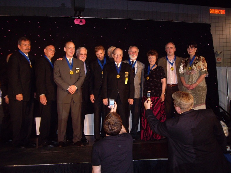 Martin Kiely honoured by receiving the 'Order of Braid' during NGH anual convention