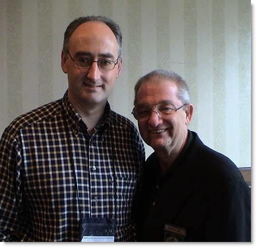 Martin Kiely NGH Board Certified Hypnotist and Instructor with Jerry Kein